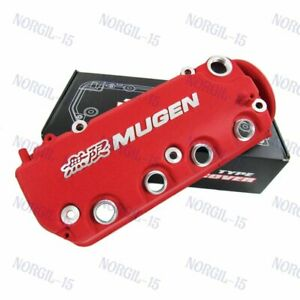 Engine Valve Cover For Honda Civic D16y8 D16y7 Vtec Sohc Rocker Red Mugen Racing