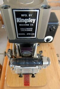Kingsley Stamping Machine Atd 106 hard To Find