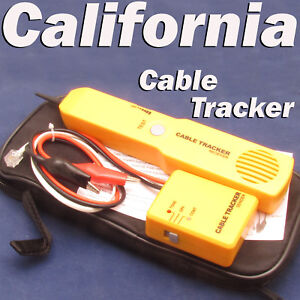 Telephone Line Network Finder Detector Tracker Cable Tester Rj 11 Wire Tracer