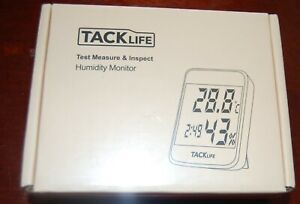 Tacklife Test Measure Humidity Monitor Hm02 Thermohygrometers