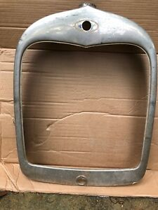 1928 Model A Ford Radiator Grill Shell Original Roadster Tudor Coupe Fordor 28 5
