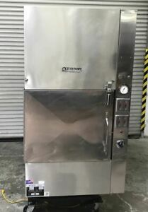 Wood Burning Smoker Bbq Gas Oven Rotating Rack Ole Hickory El es Commercial 4069