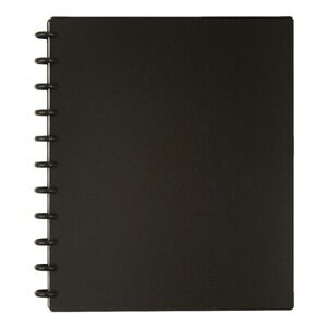 Tul Discbound Notebook Letter Size Poly Cover Narrow Ruled 120 Pages 60 Sh