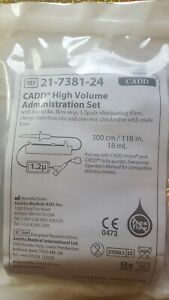 Cadd High Volume Administration Set 21 7381 24 Free Shipping