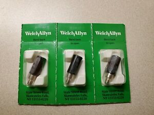 Welch Allyn Light Replacement No 07800 Lot Of 3
