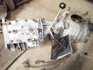 Gm Chevy 4 speed New Process Nv833 Overdrive Manual Transmission