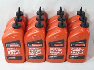 Ford Motorcraft Synthetic Rear Axle Lubricant Case of 12 Quarts SAE XY-75W140-QL $314.41