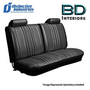 1970 Chevelle Front Bench Seat Upholstery Covers Any Color By Disitnctive Ind