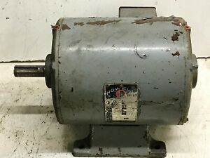 Clausing 20 Variable Speed Drill Press Motor 1 1 2 Hp 3 Phase 220 Volt 1725 Rpm