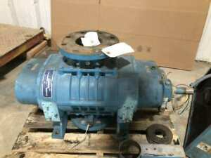 Tuthill Kinney Kmbd 400 Positive Displacement Rotary Vacuum Pump Blower 400cfm