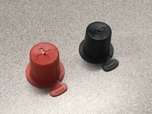 Top Post Plastic Battery Caps One Red And One Black Per Set Protects Terminals