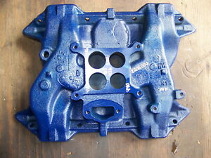 1965 Dodge Plymouth 426 Street Wedge Intake Manifold Oem 2206000 413 440