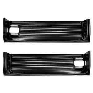 Lower Inner Door Bottom For 55 59 Chevy Gmc Ck Pickup Truck Pair