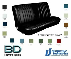 1968 Chevelle 4 Door Solid Bench Seat Upholstery Cover By Disitnctive Ind