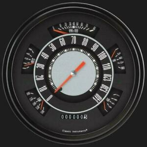 1966 1977 Ford Bronco original Style Gauges Classic Instruments fb66oe Usa