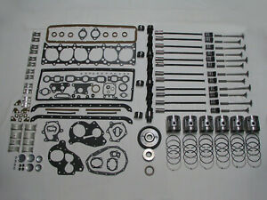 Deluxe Engine Rebuild Kit 1937 1939 Chevrolet 216 6 Cyl 37 38 39 Chevy Pistons