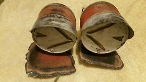 Vintage Arrow 2 Sided Turn Signal Lights Hot Rat Rod Truck Model A T Ford