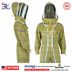 Pilot Beekeeping Suit Extra Ordinary Features Ultra Ventilated 3 Layers Size 2xl