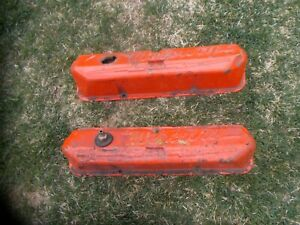 1964 Mercury Valve Covers Oem Pair