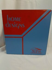 National Plan Service 1970s Home Designs Binder W 17 Plans Small Energy And More