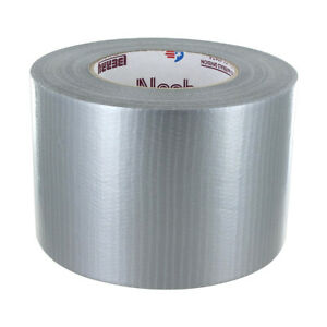 Nashua 2280 Silver Duct Tape Bulk Pack 152mm X 55m 8 Roll Factory Case
