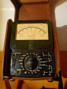 Simpson 635hv High Voltage Vintage Multimeter