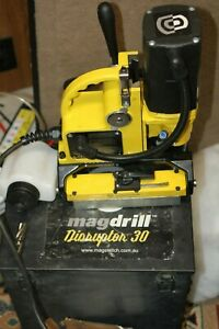 Magswitch Mag Drill Disruptor 30 Magnetic Drill Ex Condition W Box Bit Magdrill