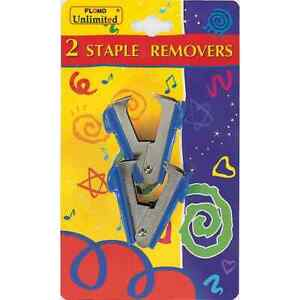 2 Count Staple Removers
