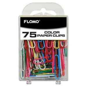 75 Count Color 50 Mm Paper Clips
