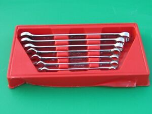 Snap On Oex707b 7 Pc Sae Wrench Set 3 8 3 4 Oex12b Oex24b With Red Tray