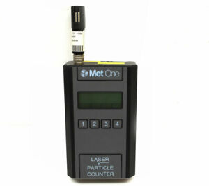 Met One 227b Handheld Laser Air Particle Counter Rs232 9vdc Rh temp probe Detect