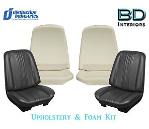 1970 Chevelle Front Buckets Seat Upholstery Covers Any Color W Front Foam