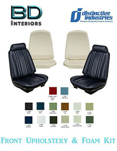1969 Chevy Chevelle Front Bucket Seat Upholstery W Front Foam Any Color