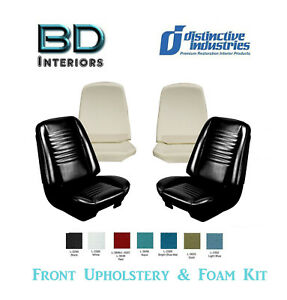 1967 Chevy Chevelle Front Bucket Seat Upholstery Foam Kit Any Color