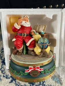 "Coca Cola Heritage Collection Santa Musical ""Good Boys And Girls"" #H24006 NIB"