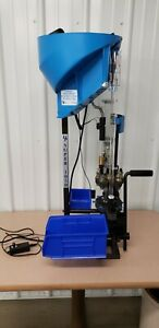 Dillon Super 1050 Reloading Press 223 carbide 40 SW bullet feeder NICE! 550 650