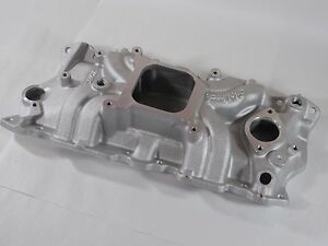 Edelbrock Torker Ii Intake Manifold 5001 Chevy Sbc 283 327 350 Fits Stock Heads