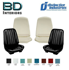 1966 Chevy Chevelle Front Bucket Seat Upholstery Molded Foam Any Color