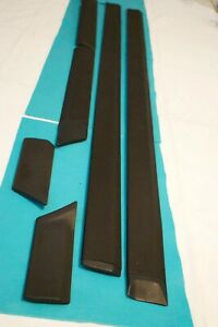 86 89 3g Accord 3dr Hatchback Set Driver Pass Protector Molding Garnish Trim