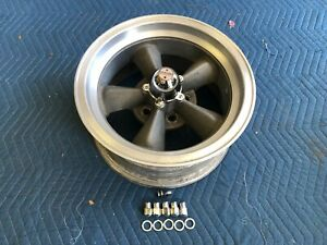 Rare Single 1 Vintage Real Torque Thrust D Wheel 15x7 4 1 2 Ford Mopar Crow