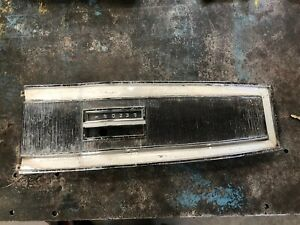 Original 1966 70 Mopar Dodge Plymouth Automatic Floor Console Top Plate Used