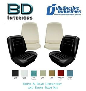 1965 Chevy Chevelle Coupe Bucket Seat Upholstery Molded Foam Any Color