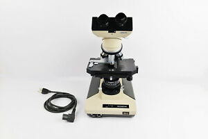 Olympus Bh 2 Laboratory Microscope 3 Objectives