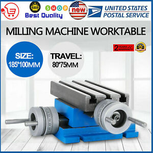 New Milling Machine Worktable Cross Slide Table 4 7 3 Updated Hot Precision