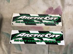 50 Pack Arctic Cat Stickers Snowmobile Atv Zr Zl Puma