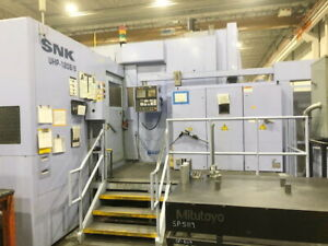 2006 Snk Uhp 120b 5 Vertical 5 axis Cnc Machining Center Profiler
