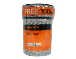 Electric Fence Poly Wire Gallagher