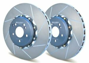 Girodisc Front 2pc 360mm Rotors For 08 Mercedes Clk63 Amg Black Series