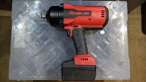 Snap on Ct9075 With 5 Ahr Battery 1 2 Drive Impact Gun