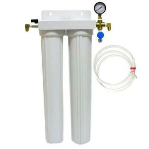 Premium Double Water Filter Kit For Ice Machine Imf
